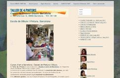 Nueva página web TALLER DE 4 PINTORS